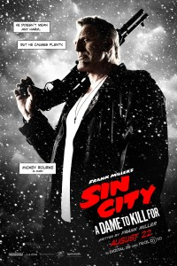 SIN CITY: A DAME TO KILL FOR…  a day late and a dollar short (but watchable)