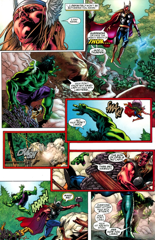 HulkThor 660x1024 Hulk vs Thor