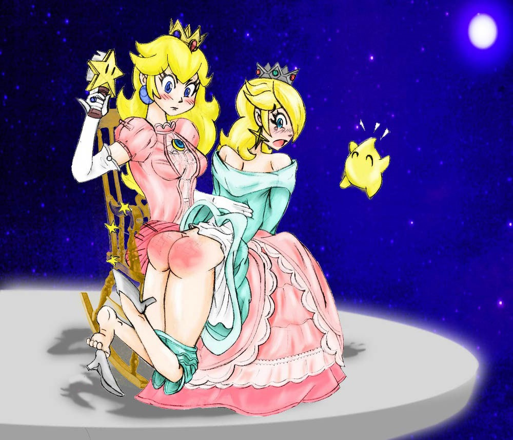 Princess peach nude spank