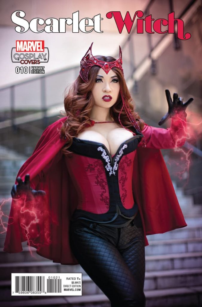 ScarletWitch10CosplayVar 675x1024 Scarlet Witch #10 Cosplay Variant