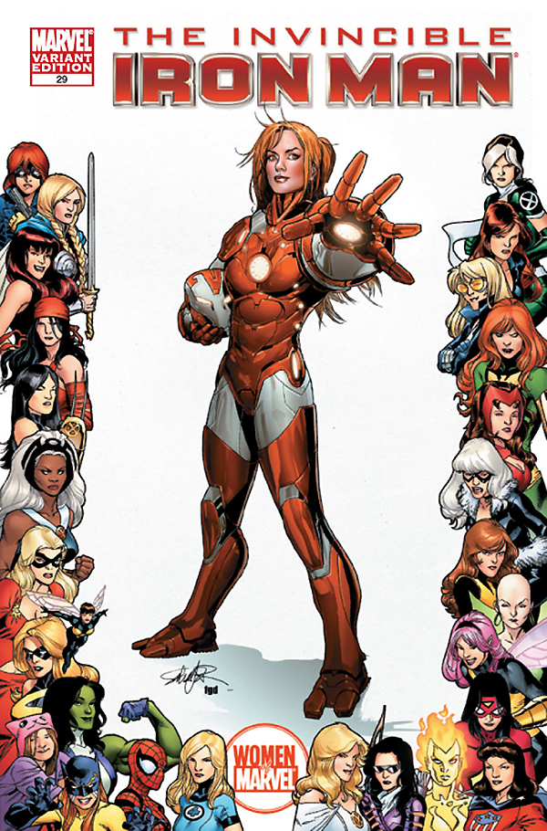 Women of Marvel The Invincible Iron man 0029 Women of Marvel