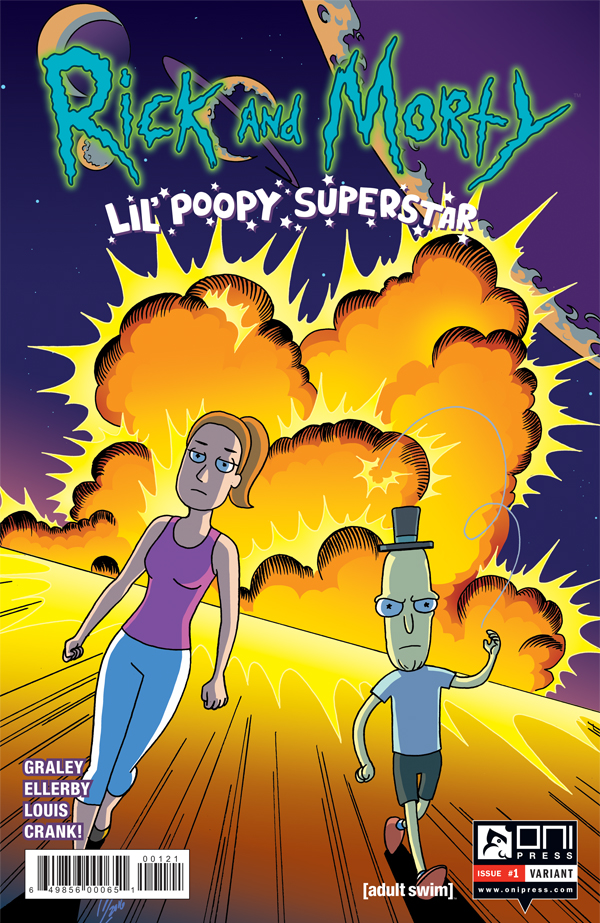 Rick and Morty- Lil' Poopy Superstar 0001b
