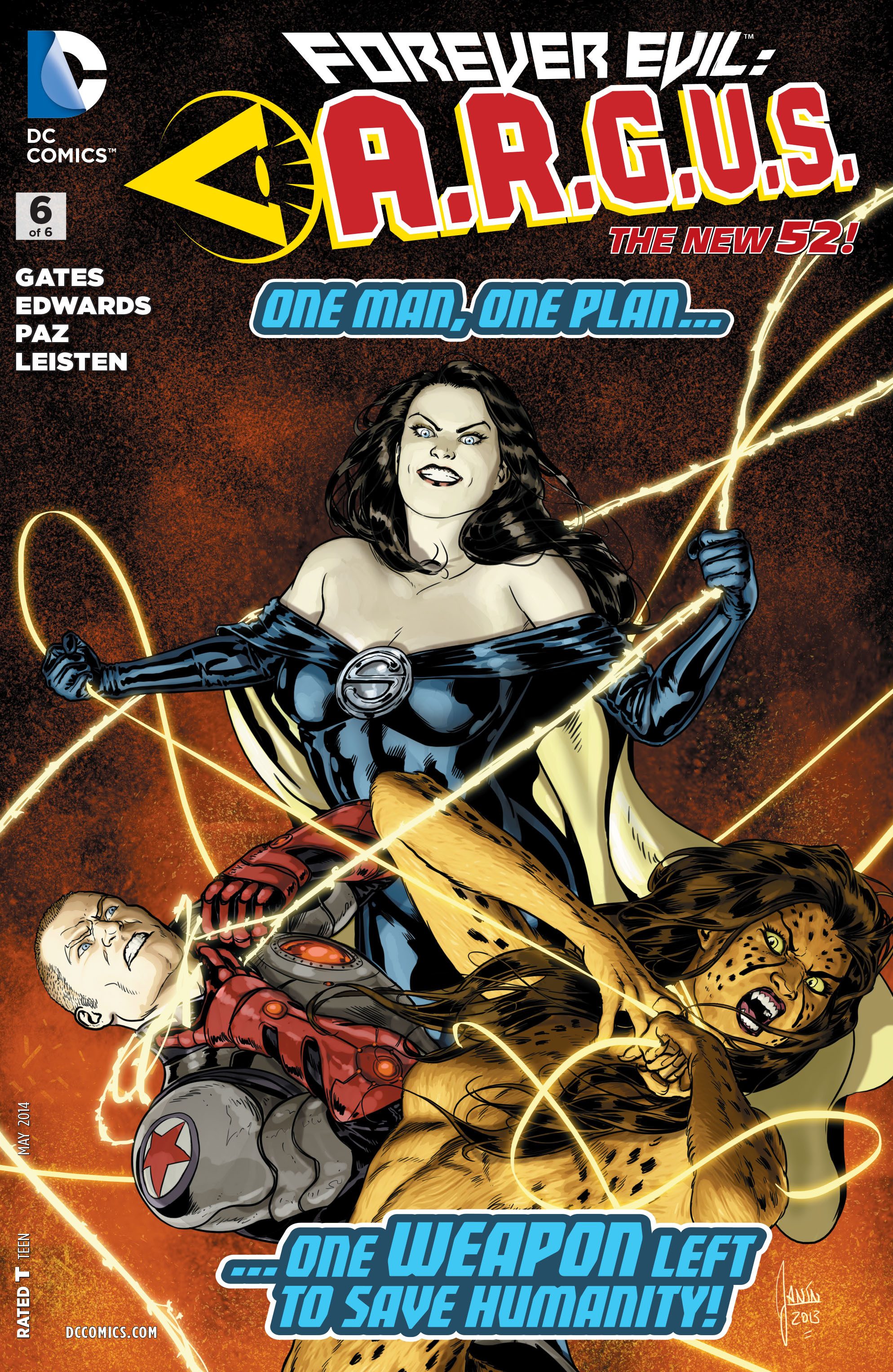 Forever Evil: A.R.G.U.S. 0006