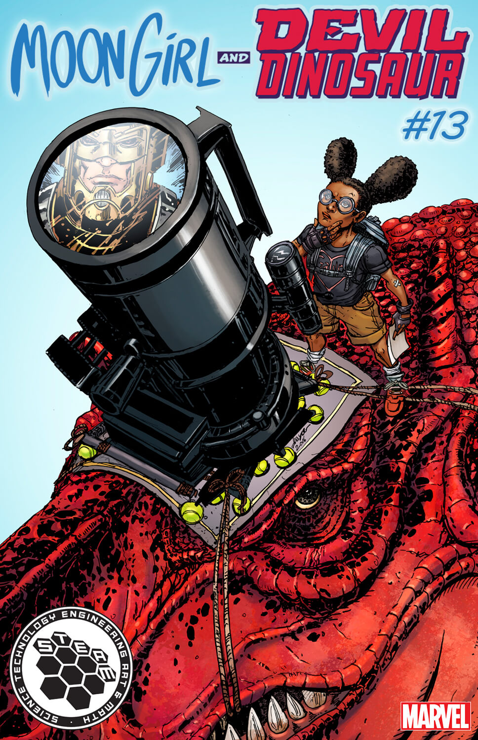 Moongirl & Devil Dinosaur 0013 STEAM Varient