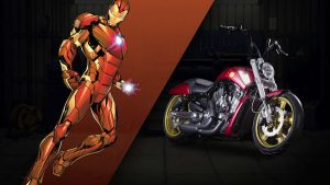 harley custom iron man 300x169 27 custom Marvel motorcycles