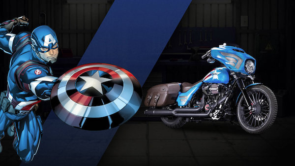 27 custom Marvel motorcycles harley-custom-vintage-cap