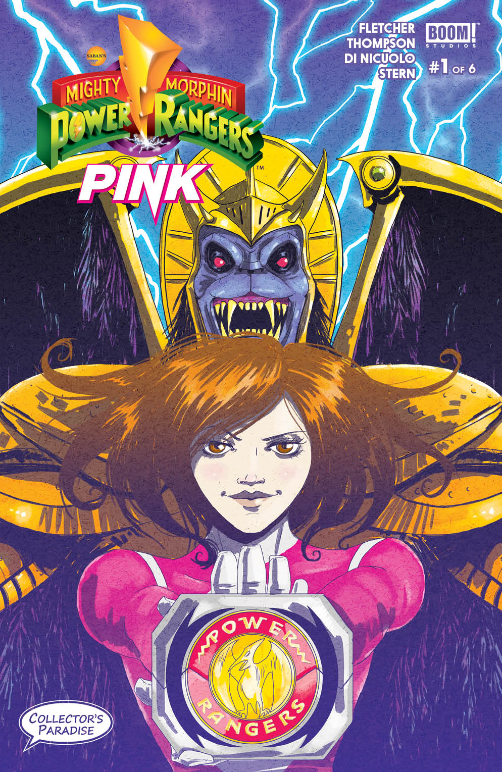 Mighty Morphin Power Rangers: Pink 0001 Collectors Paradise