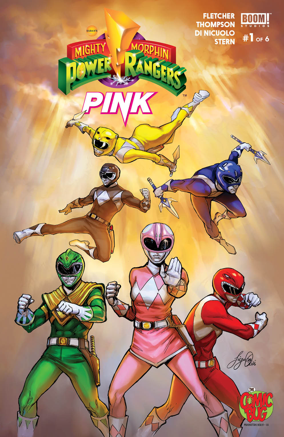 Mighty Morphin Power Rangers: Pink 0001-the-comic-bug
