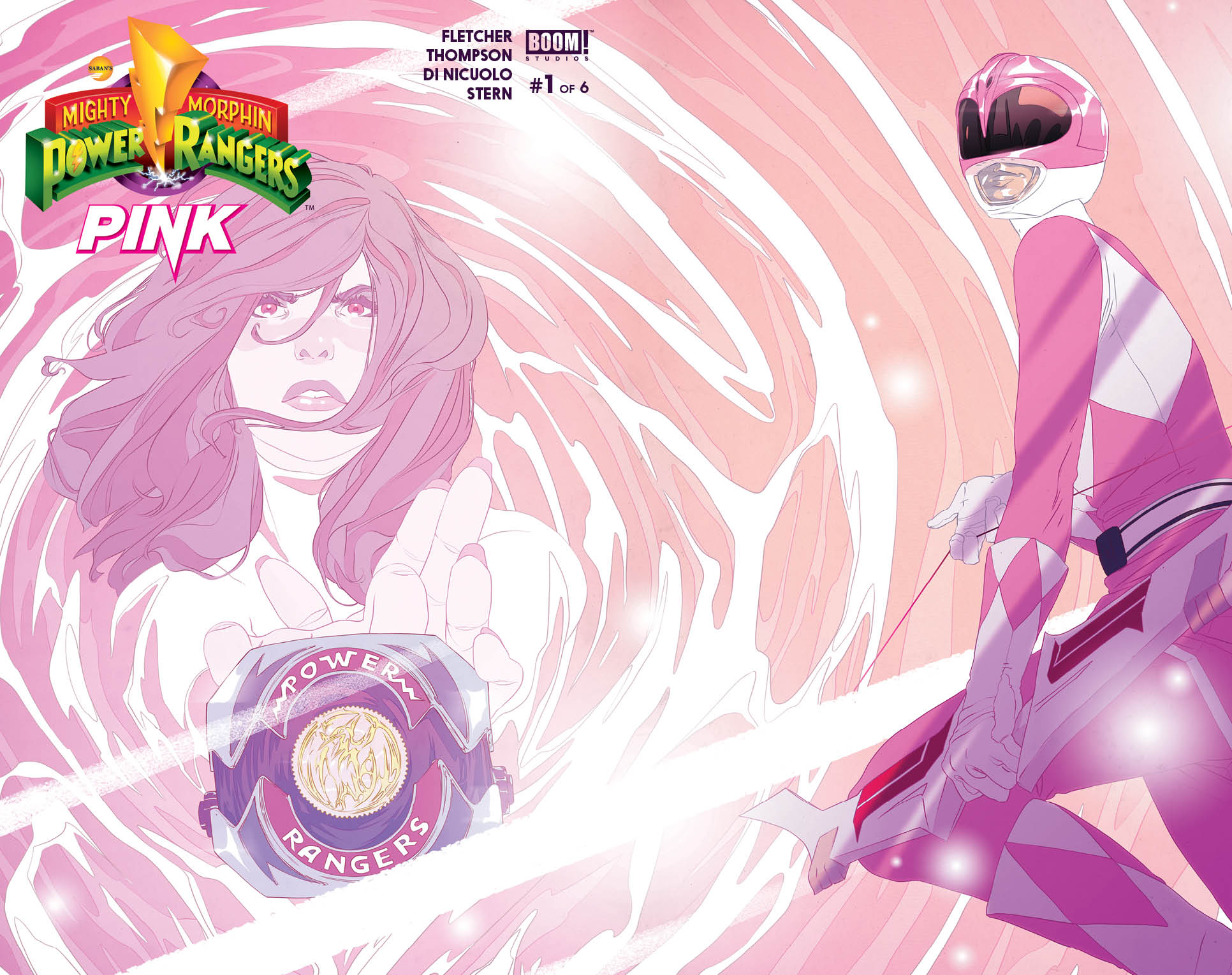 Mighty Morphin Power Rangers: Pink 0001b