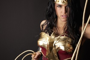 Wonder woman with her rope