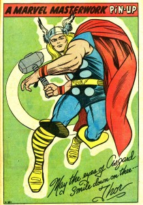 may the eyes of asgard smile down on thee – thor