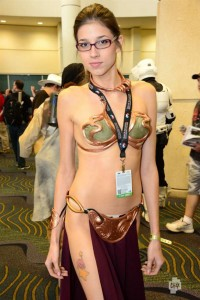 princess leia slave girl cosplayer 200x300 princess leia slave girl cosplayer