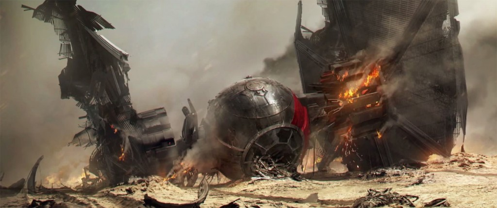 Downed Tie Fighter 1024x429 Downed Tie Fighter