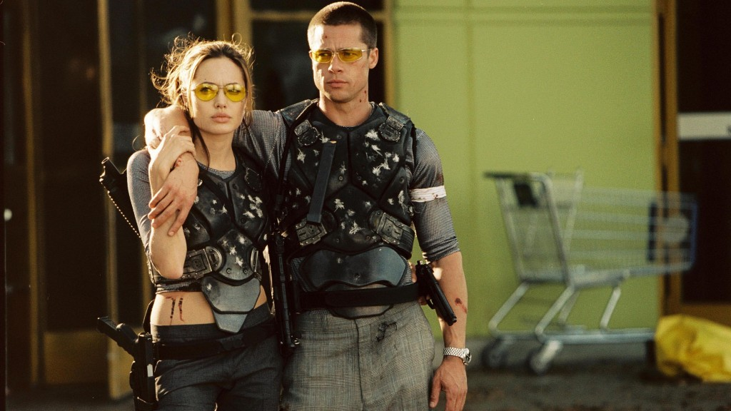 Mr and Mrs Smith after a battle