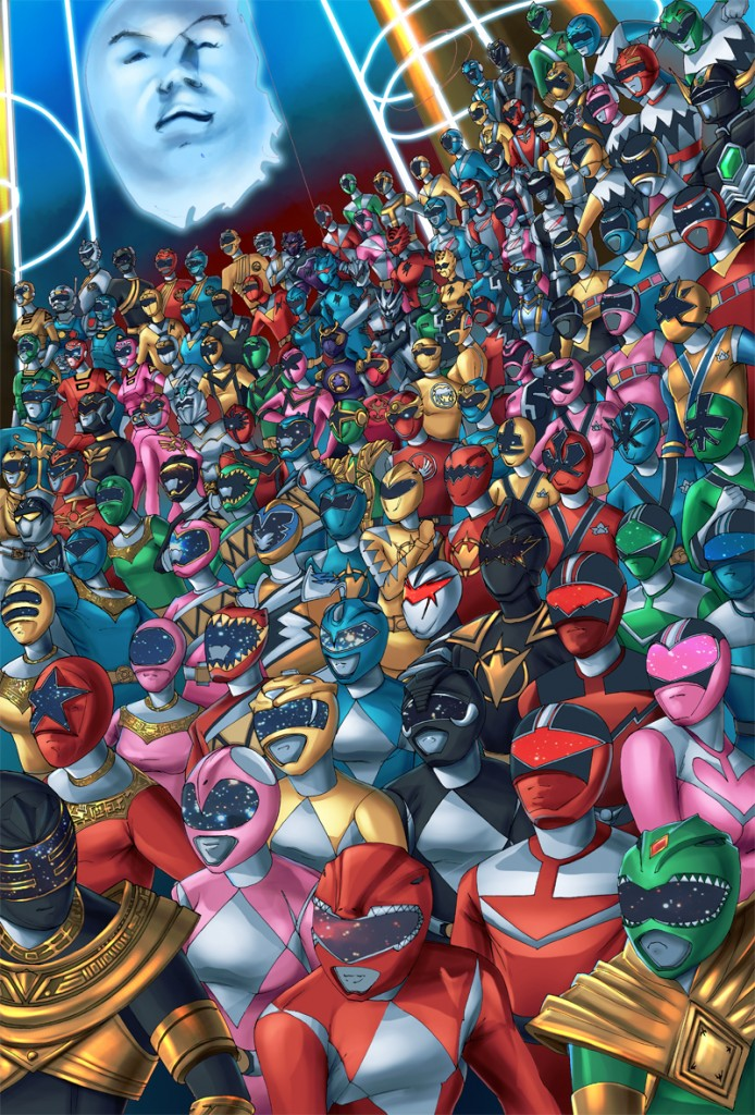 Power Rangers of all time