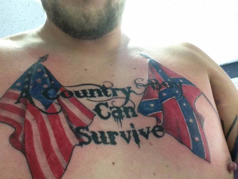 a country boy can survive a chest tattoo a country boy can survive a chest tattoo