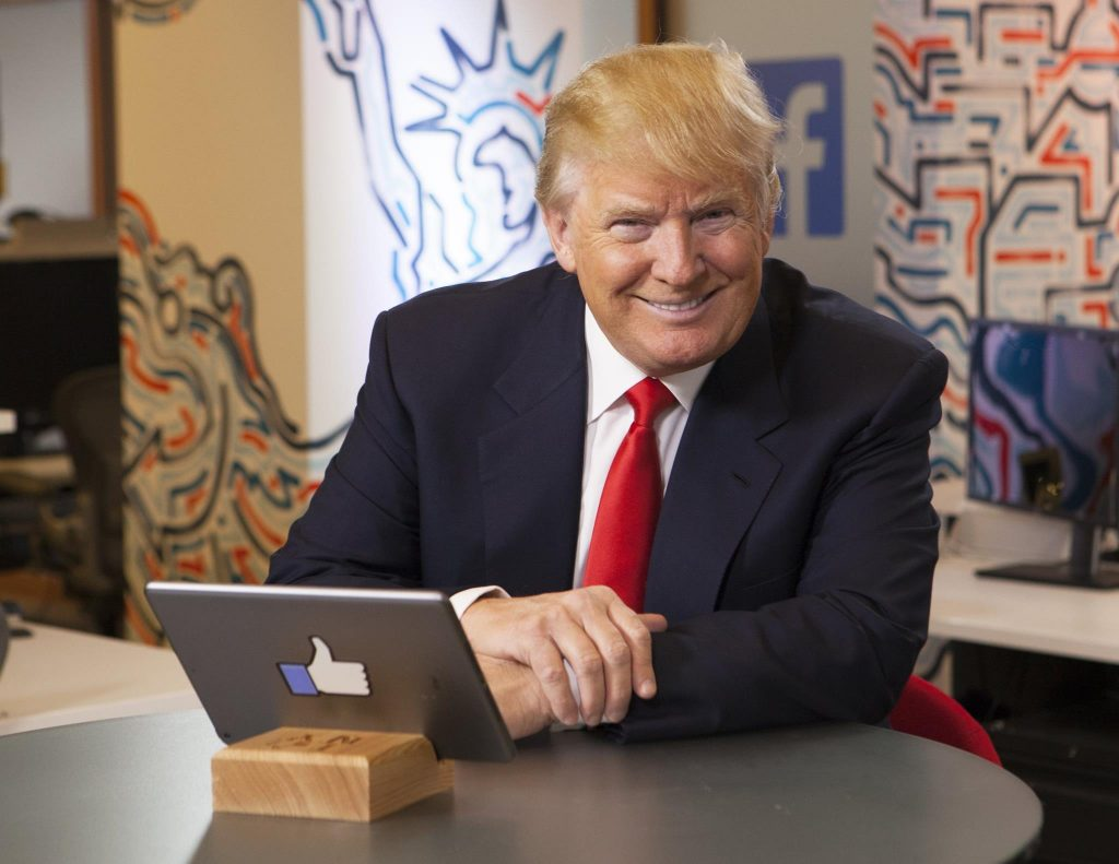 Trump liked this tablet