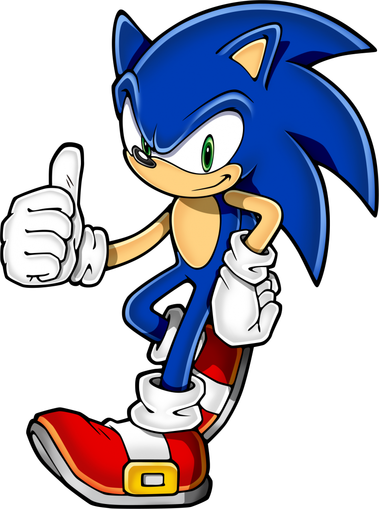 Neo Sonic give you a thumbs up 763x1024 Neo Sonic give you a thumbs up