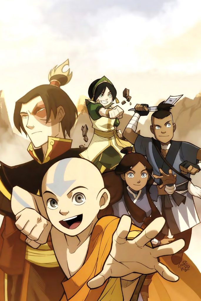 Avatar Aang-The Promise