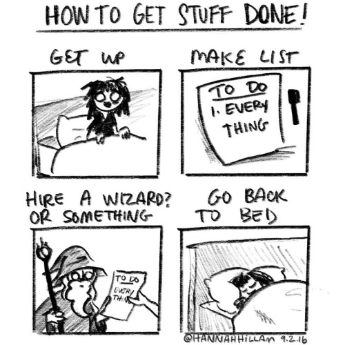 how to get stuff done