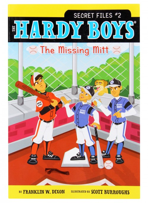 The hardy boys series book report form