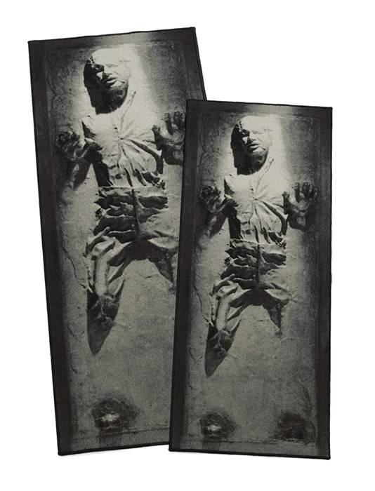 han solo in carbonite rug Han Solo in Carbonite Rug