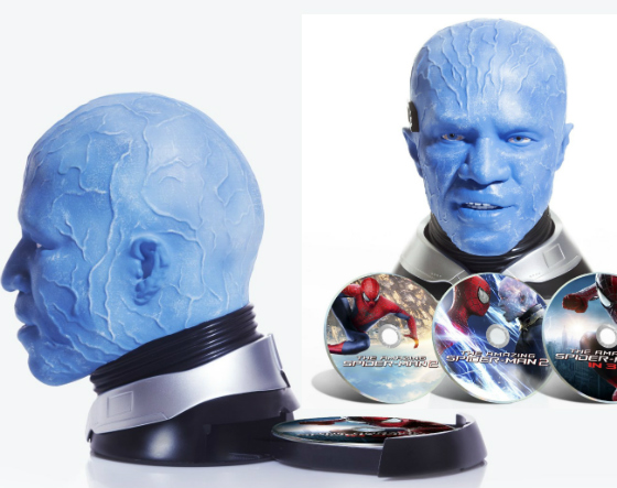 foxxhead The Amazing Spider Man 2: Electro Collectors Edition