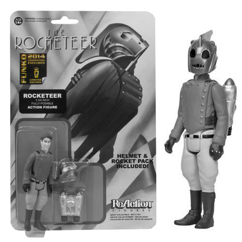 Rocketeer SDCC Exclusive Black and White Rocketeer Action Figure