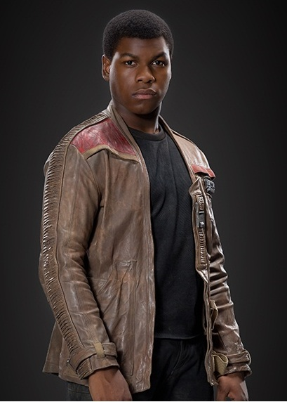Finn Star Wars Episode 7 Distressed Leather Jacket  01607 zoom Poe / Finn Jacket from Star Wars : The Force Awakens