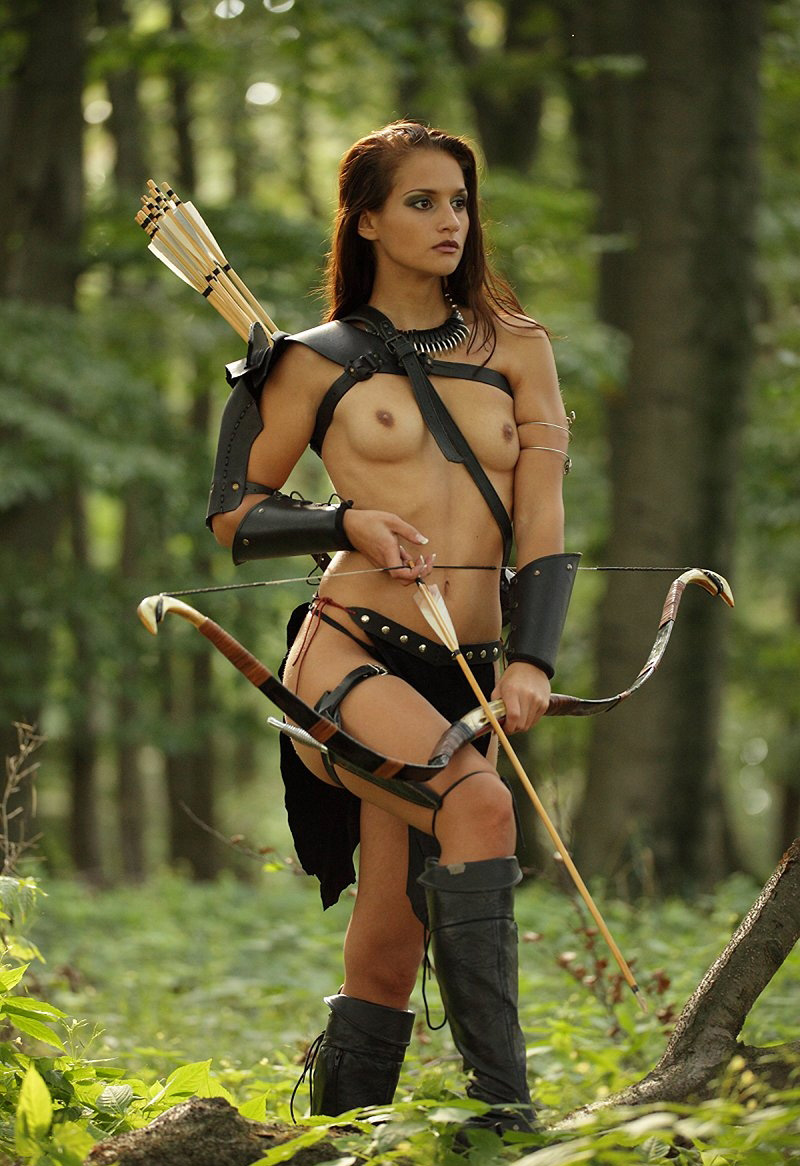 Naked female warrior cosplay hentai gallery