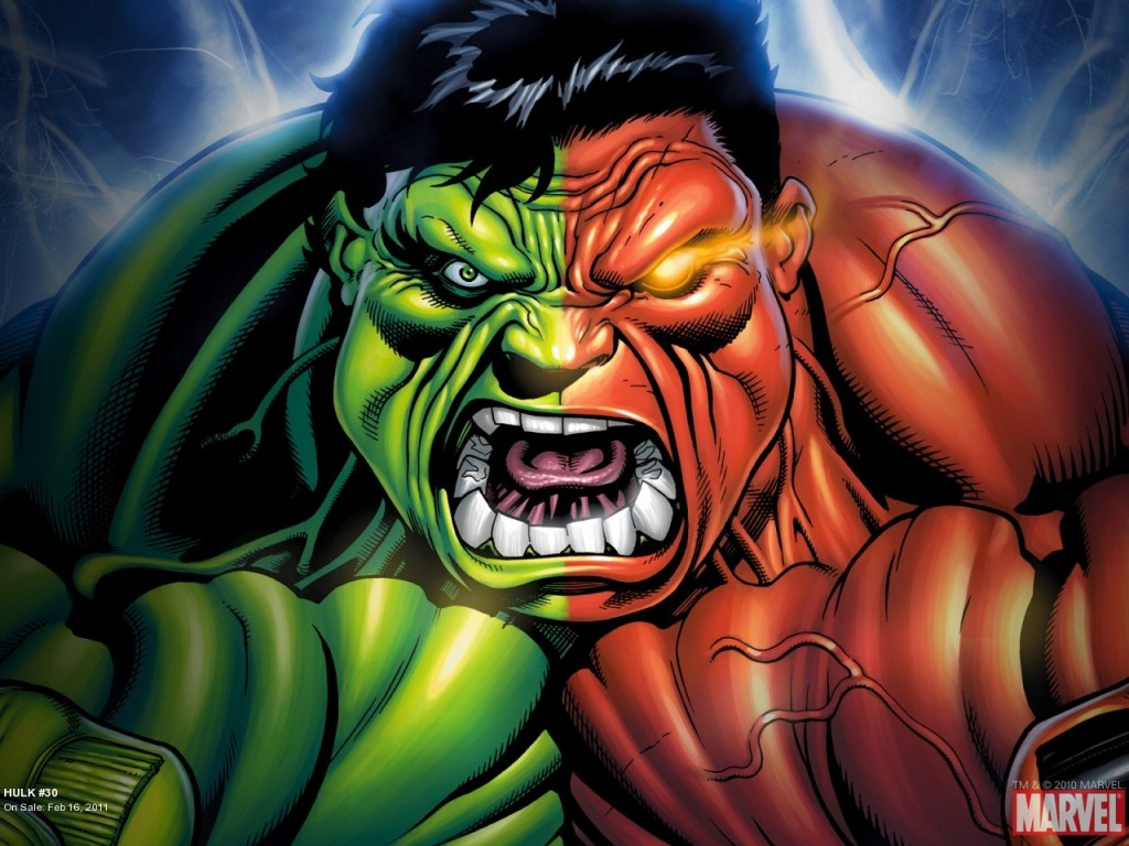 green hulk vs red hulk 30