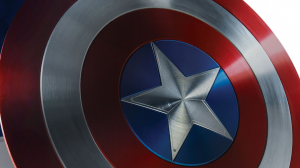 Shiney Captain America Shield