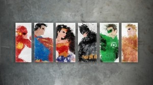 Justice League Splatter