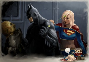 batman vs supergirl
