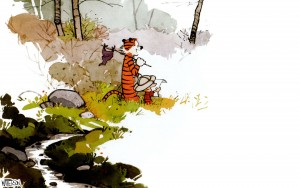 Calvin and Hobbes – Final Panel