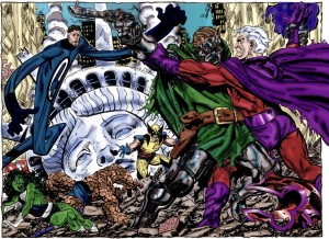 Dr Doom vs Magneto