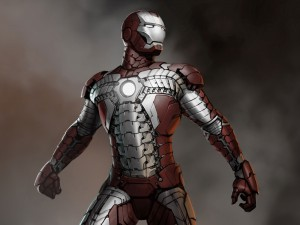 Iron Man suit from a briefcase