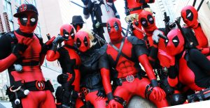 Deadpool Cosplaying Fools
