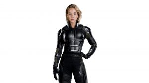 Jennifer in Black Armor