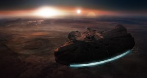 Millenium Falcon – Triple Sunset