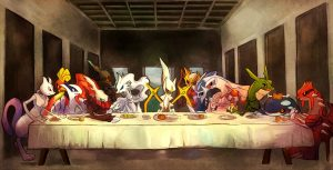 Pokemon last supper