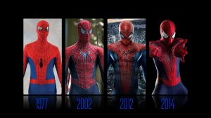 Spider-man suits