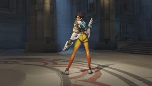 The Tracer Pose – Overwatch ass