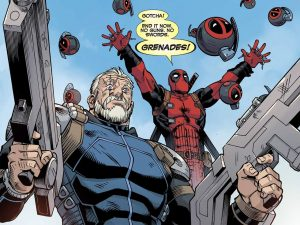 deadpool ends things with grenades