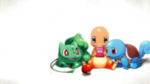 pokemon playing video games
