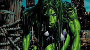 she hulk in water