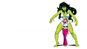 the savage she hulk from the 70's
